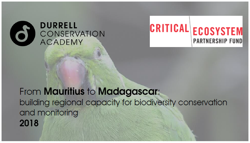 Durrell Cepf training